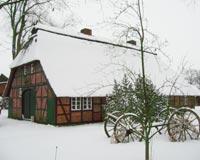 Der Ramakershof im Schnee